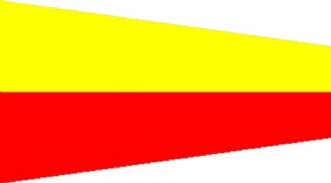 Number 7 Code Signal Pennant